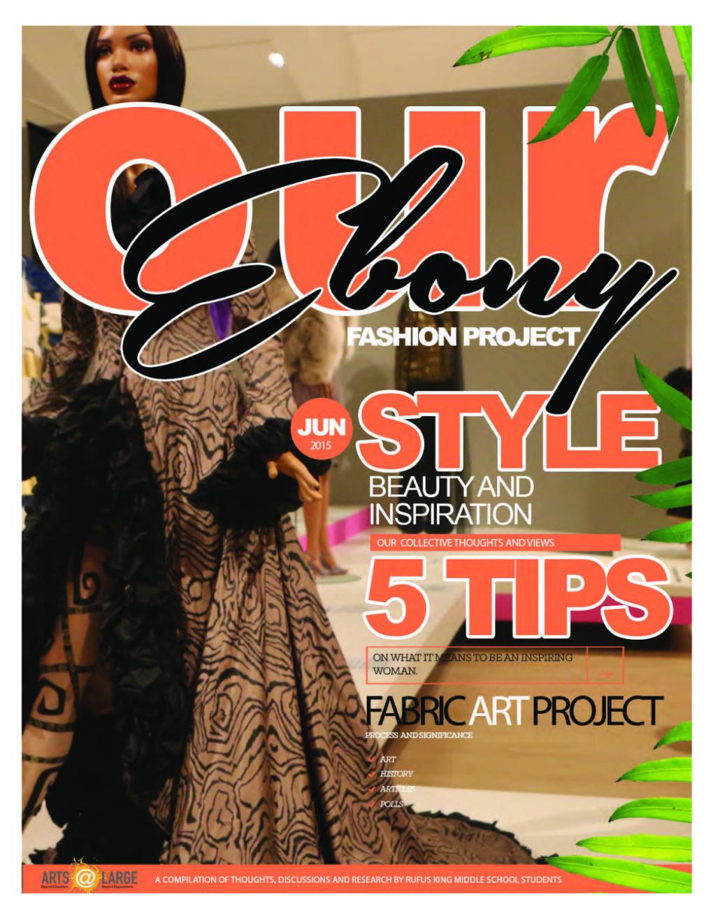 Arts@Large Ebony Fashion Fair Project