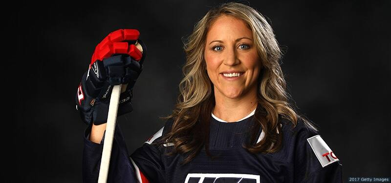 WUWM Lake Effect: Olympian Meghan Duggan, 'Game Changers' Keynote Speaker, and WF Executive Director, Lisa Attonito